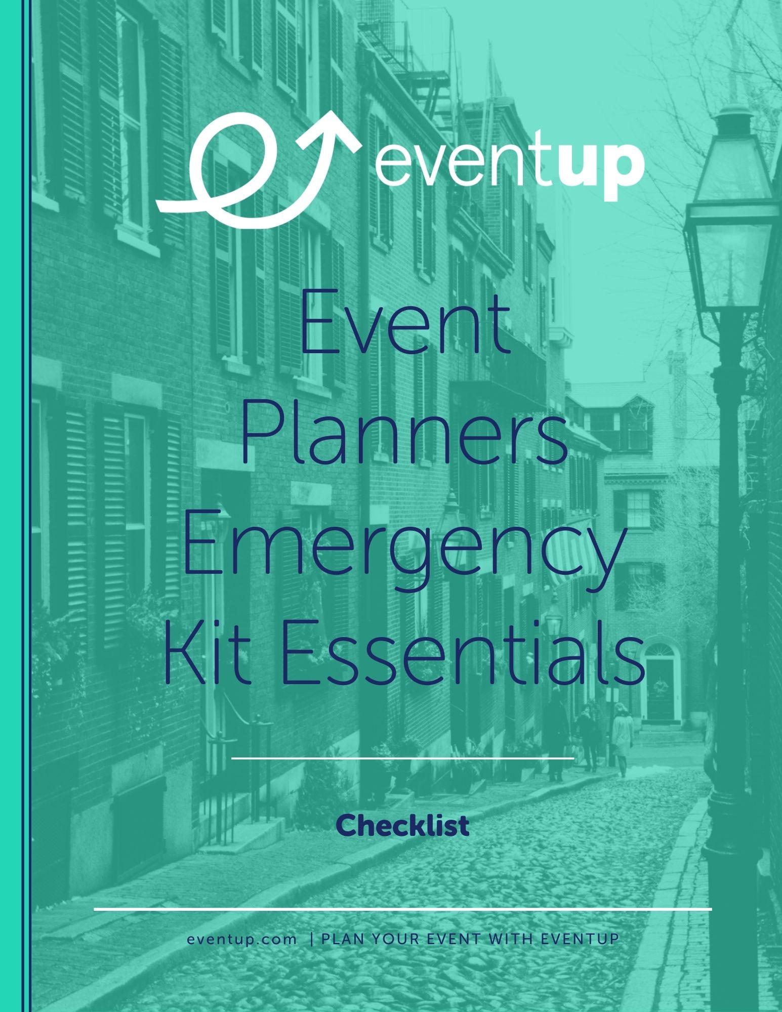 EventUp - Checklist - Event Planner Emergency Kit Essentials